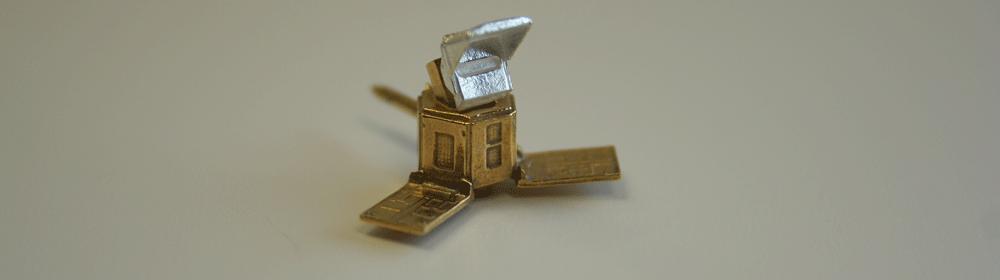 Sentinel 5P jewellery pins